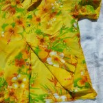 Bright Yellow Fabric